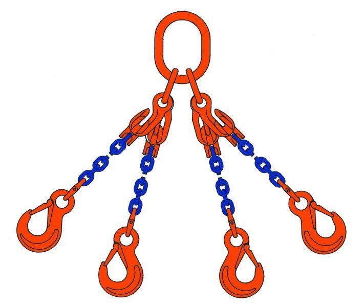 Akcesoria dźwigowe - zawiesia łańcuchowe