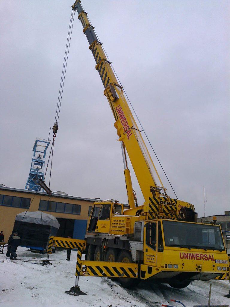 Dźwig - Demag 80 ton