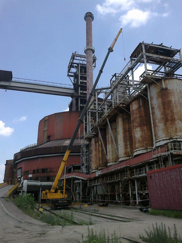 Dźwig Faun 70 ton