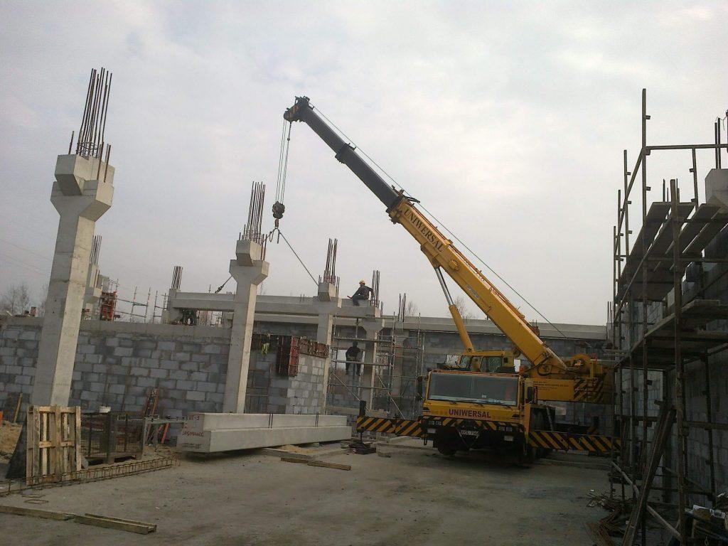Dzwig Faun 70 ton