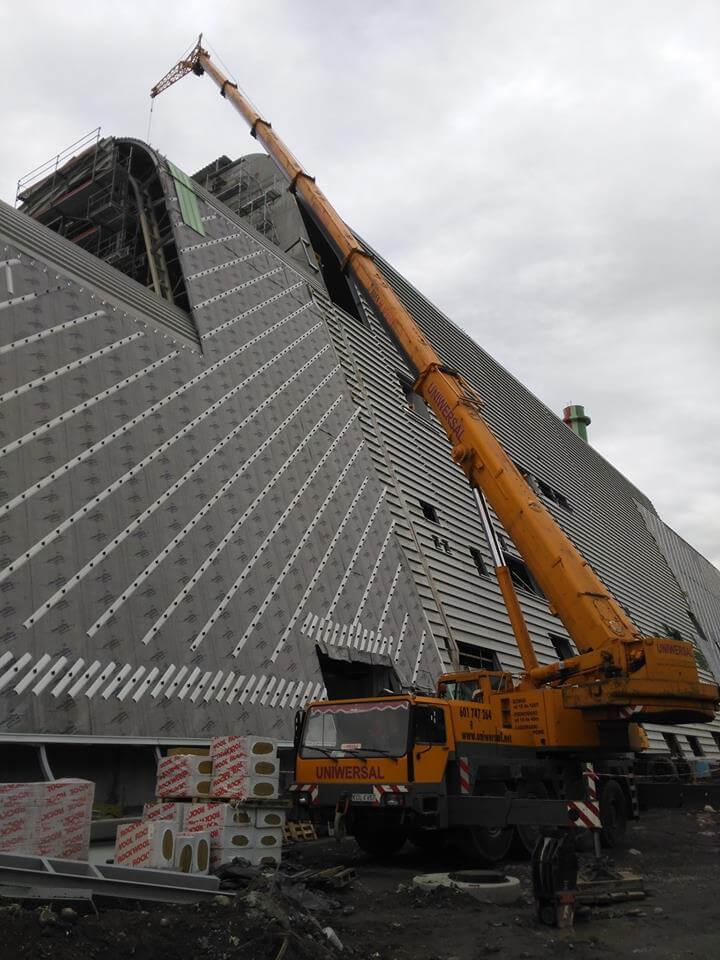 Dźwig Liebherr 100 ton