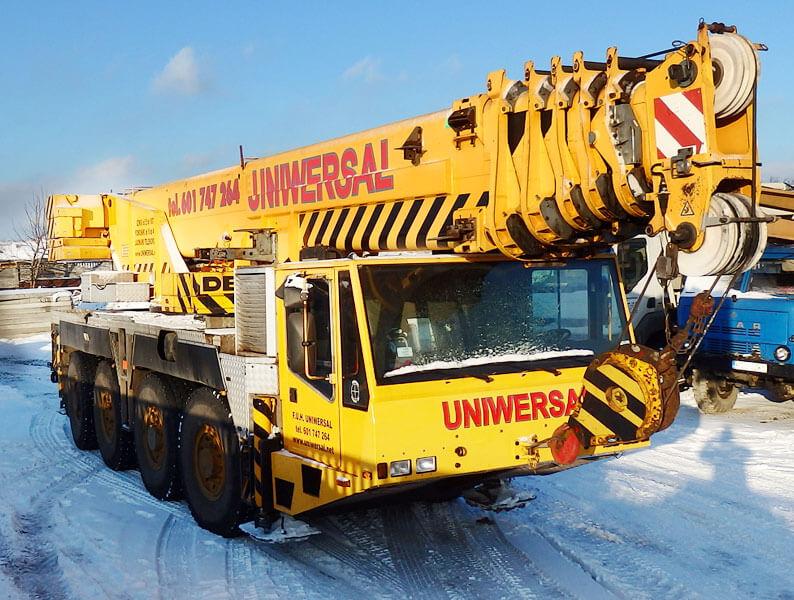 Dźwig samojezdny Demag 80 ton