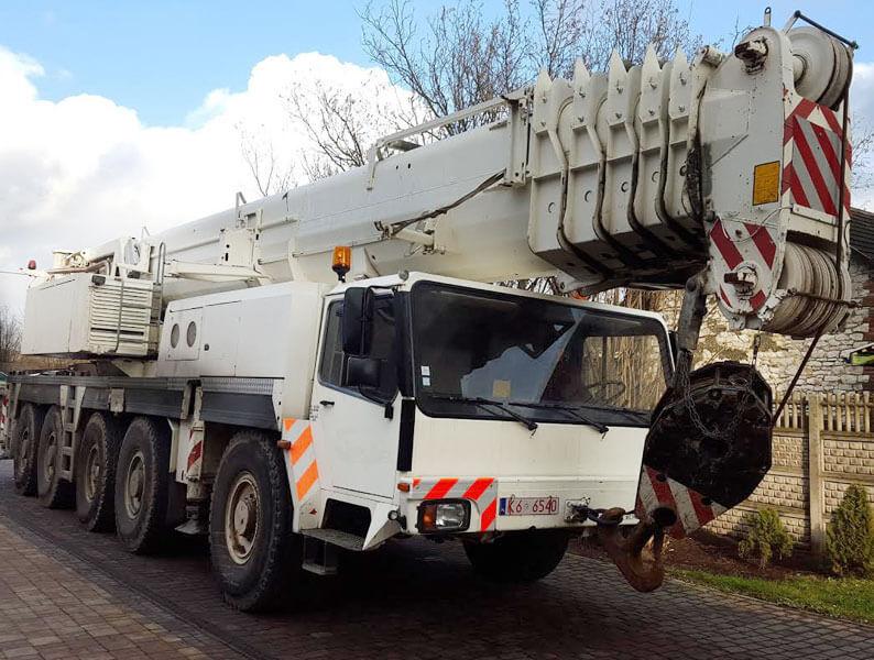 Dźwig samojezdny Liebherr 160 ton