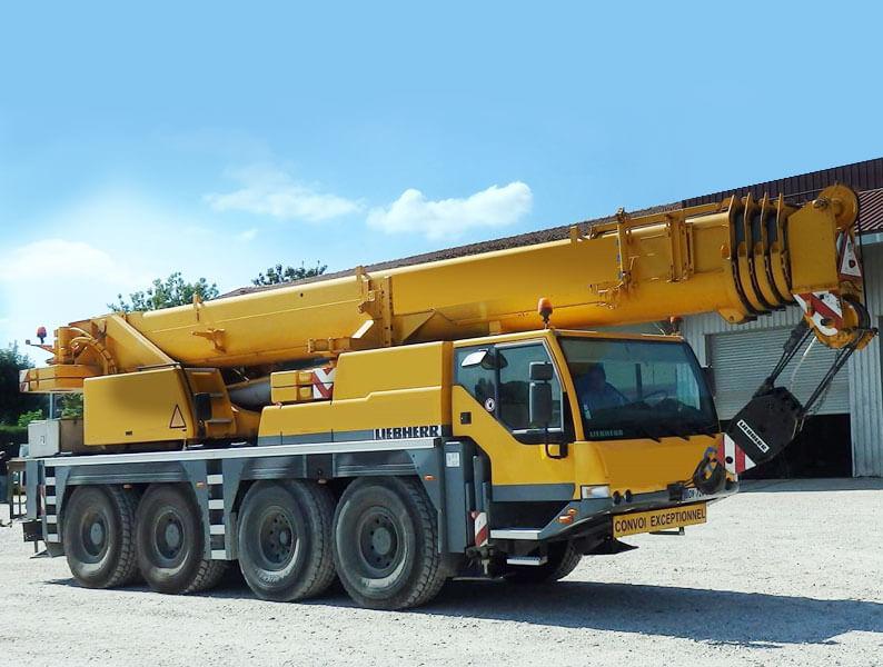 Dźwig samojezdny Liebherr 60 ton